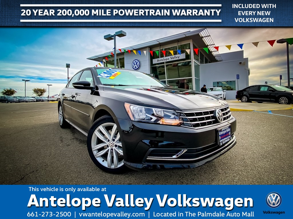 $267 Lease on a New 2019 Volkswagen Passat 2.0T Wolfsburg FWD 4D Sedan