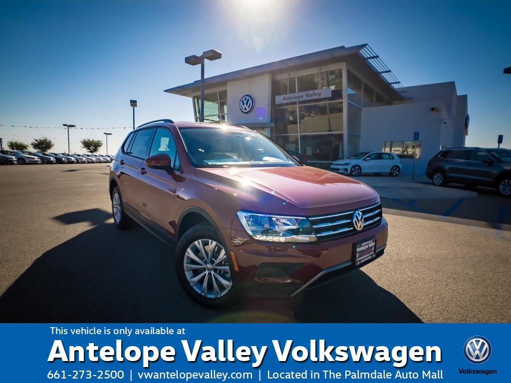 $199 Lease on a New 2019 Volkswagen Tiguan S FWD 4D Sport Utility