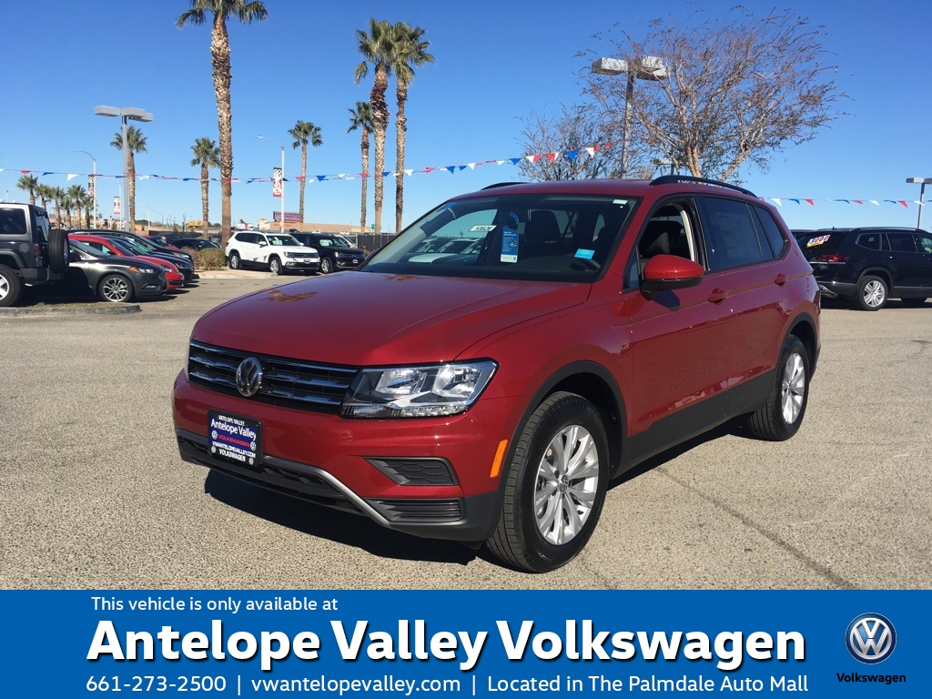 $239 Lease on a New 2019 Volkswagen Tiguan S FWD 4D Sport Utility