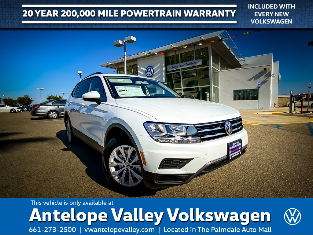 $189 Lease on a New 2020 Volkswagen Tiguan 2.0T S FWD 4D Sport Utility