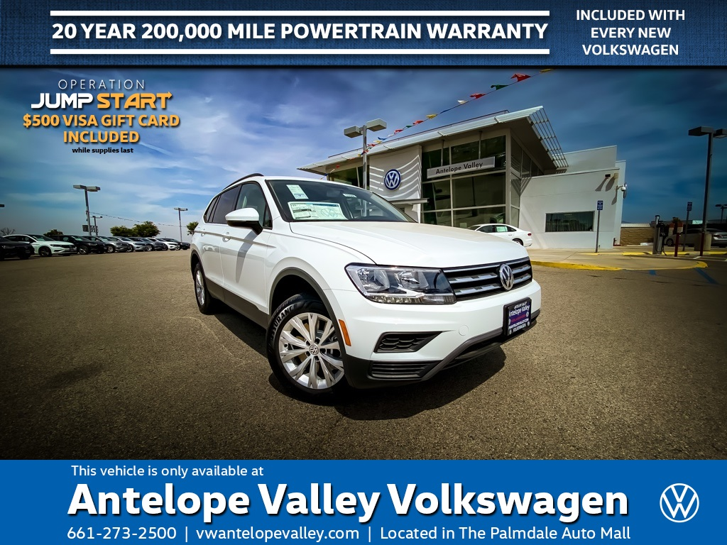 $209 Lease on a New 2020 Volkswagen Tiguan 2.0T S FWD 4D Sport Utility